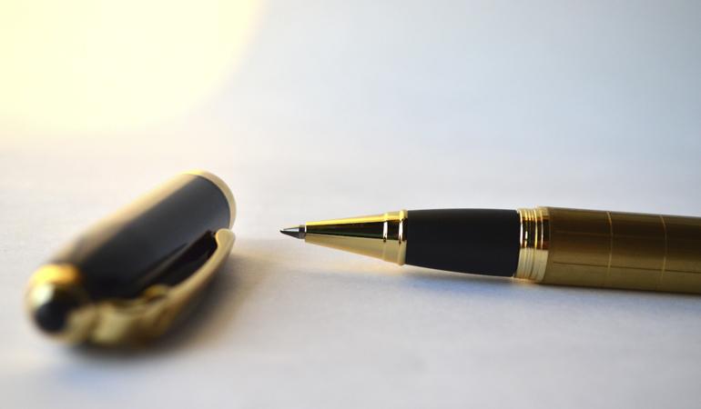 Penna för husbilsmäklare